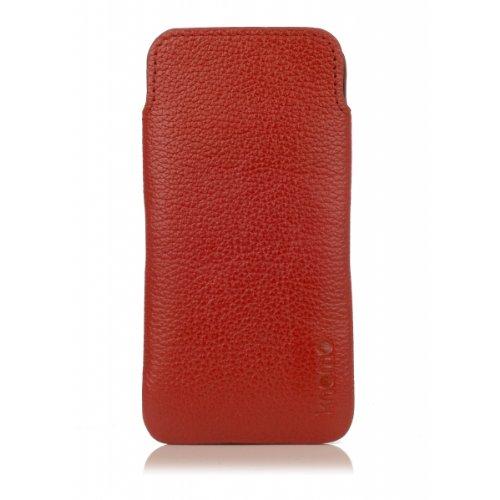 Knomo Tech 90-946 Schutzhülle für iPhone 5, Terracotta (Orange) - 90-946-TER