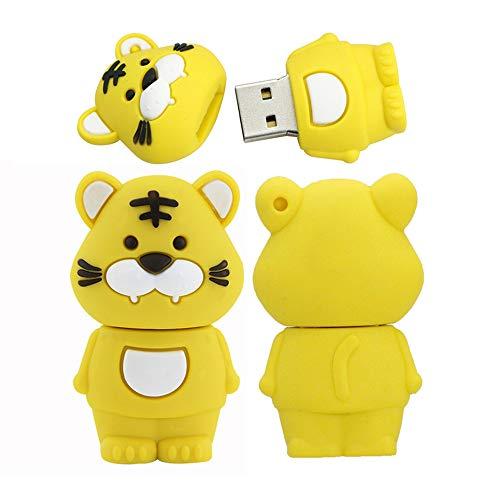 16GB usb 3.0 pendrive modello 12 animali simbolici usb flash drive pen drive usb u disco usb (tigre)