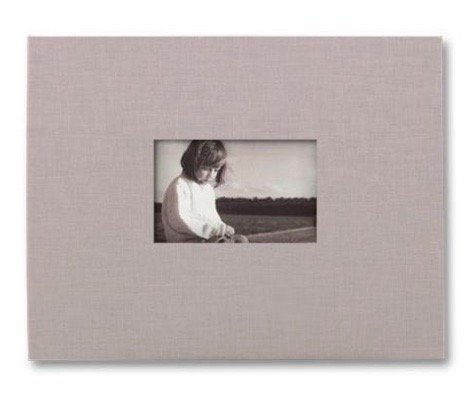 KOLO, Newport Refillable Scrapbook, Platinum Cover, Black Pages, 11 x 14 inches (100-2011)