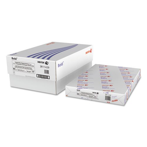 Xerox Products - Xerox - Gloss Cover Stock, 80lb, 94 Brightness, White, 11 x 17, 250 Sheets/Pack - Sold As 1 Pack - The ultimate digital coated paper for production color printers. - Digital Color Elite Gloss has the best image quality and performance available. - You'll have flawless runnability and uniform images with every sheet. - Ultra smooth surface and intense bright white cover stock will make every presentation look professional. -