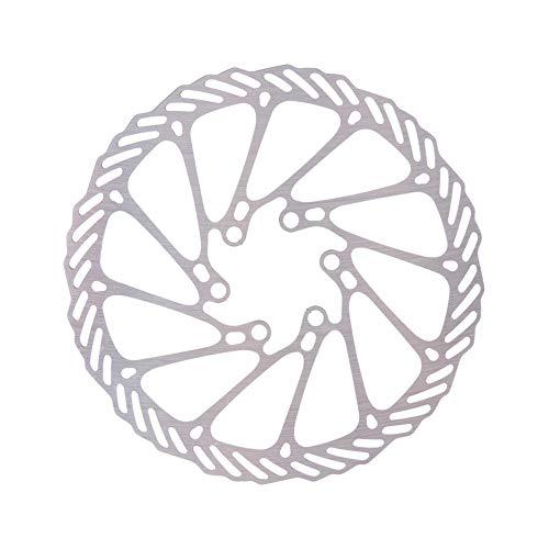 180 mm 1PC Bicicletas Freno de Disco de la Bici del Freno de Disco Center Lock Rotores Rotores de Acero Inoxidable con 6 Pernos de Carretera Bicicleta de montaña MTB BMX