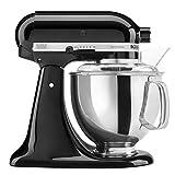 KitchenAid KSM150PSOB Artisan Series 5-Qt. Stand Mixer with Pouring Shield -...