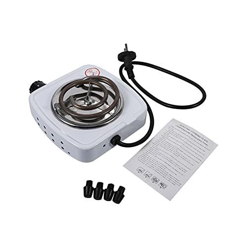 Enchufe de la UE 220V 500W Estufa eléctrica Quemador de placa caliente Calentador de café Estufa Plancha de hierro Herramienta de cocina para el hogar Quemadores de encimera