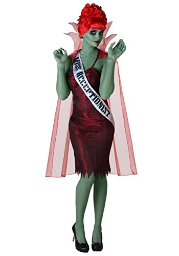Plus Size Miss Dead Receptionist Costume - http://coolthings.us