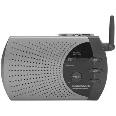 RadioShack 4 Channel 900MHz Wireless Intercom System