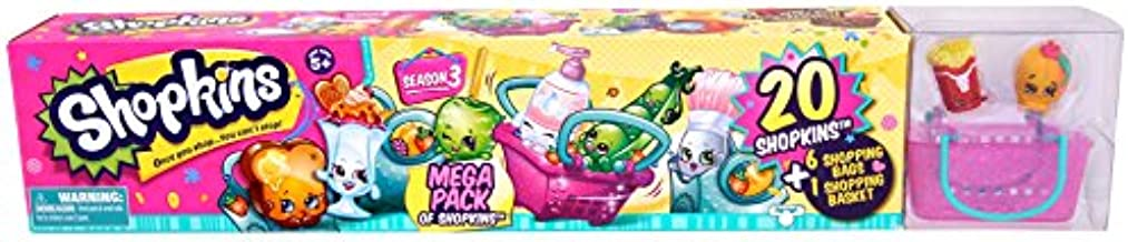 Shopkins Season 3 Mega Pack of Shopkins