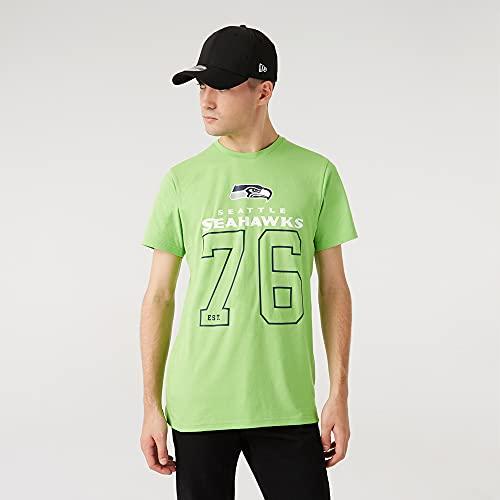 New Era NFL Seattle Seahawks On Field Graphic tee T-Shirt, Größe:XL