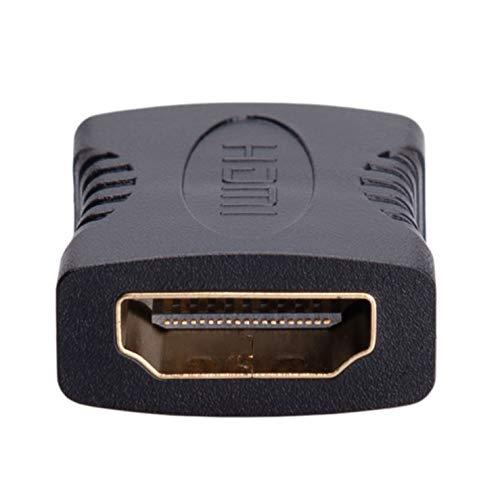 Extensor HDMI, Conector Hembra a Hembra, Alargador de Cable, Adaptador de Vídeo, Acoplador, Varilla de Extensión, 4K 2K Full HD 3D HDTV 1080P para TVBOX, TV, PC, DVD, Monitor, Proyector, PC, Pantalla