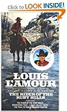 Louis L'Amour - Five Softbound Books: Under the Sweetwater Rim, Hondo, The Rider of the Ruby Hills (and other short stories), Down the Long Hills, and The Ferguson Rifle