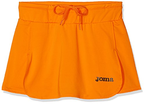 Joma Open Falda, Niñas, Naranja (Fluor), 8-10 años