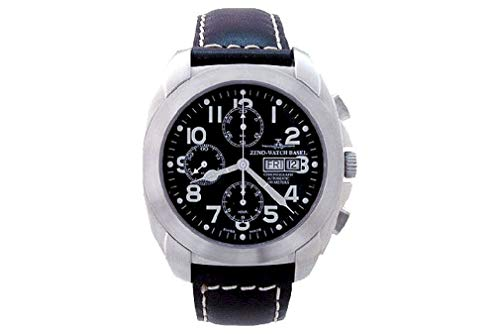Zeno-Watch Reloj Mujer - Square XL Pilot Chrono Day-Date - 8600TVDD-a1