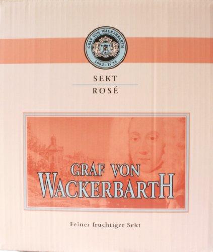 Graf von Wackerbarth - rose' - Flasche(6x 750 ml) 1Karton