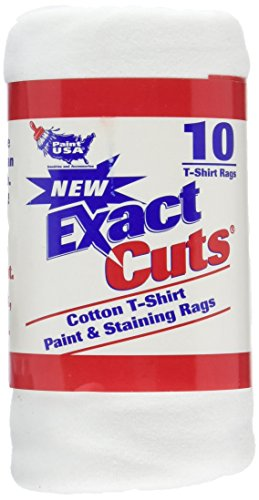 """Intex Supply Co W-10001 Exact Cut T-shirt Paint & Staining Rags 14""""x16"""""""
