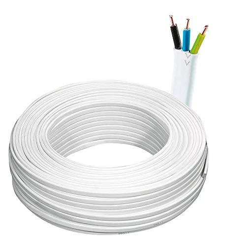 Flache Installationsleitung Kabel YDYp NKT 3x1.5 450/750V - 25m