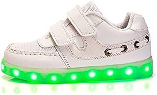 [ノーブランド品] キッズ 子供 男の子 女の子 LEDスニーカー LEDシューズ 男女兼用 光る靴 USB充電可能gx5