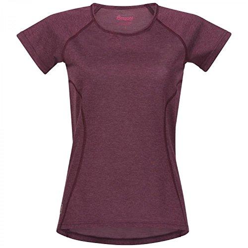 Bergans Cecilie - T-Shirt Manches Courtes Femme - Rose Modèle XL 2018 Tshirt Manches Courtes