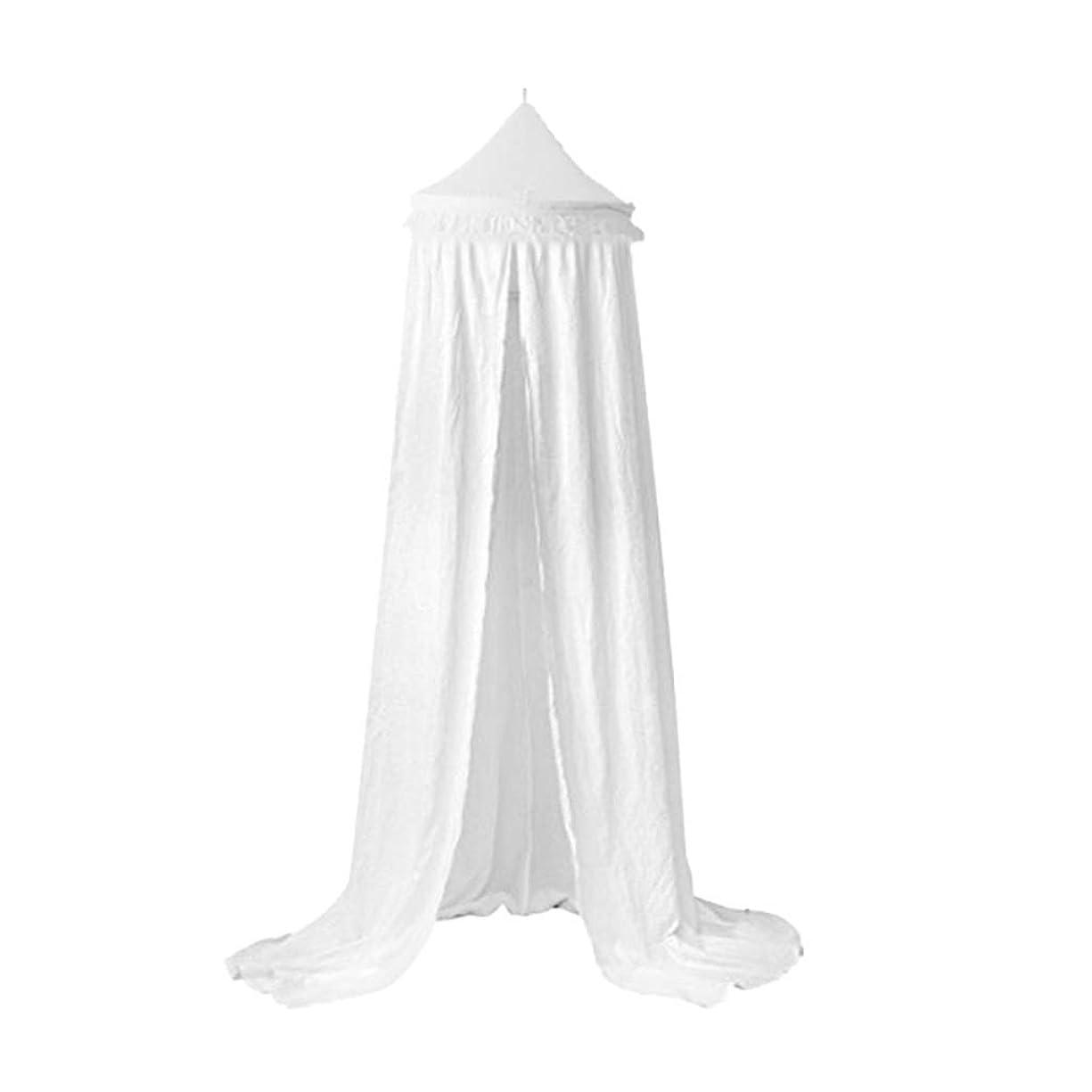 中相手勇者キッズテント 蚊帳 寝具 ドームテント 遊び場 ベッドキャノピー インテリア 部屋飾り 全3色 - 白