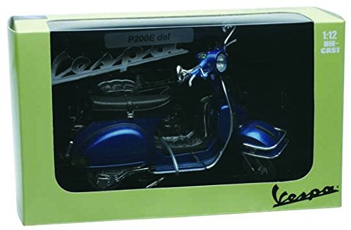 NewRay - 42213 - Modélisme Moto 1:12 (42213) - Figurine 1978 Vespa P200E (16cm) S U R T I D O