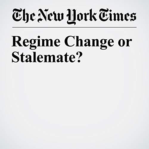 Regime Change or Stalemate? copertina