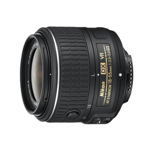 Nikon Obiettivo Nikkor AF-S DX 18-55 mm f/3.5-5.6G VR II, Nero [Versione EU]
