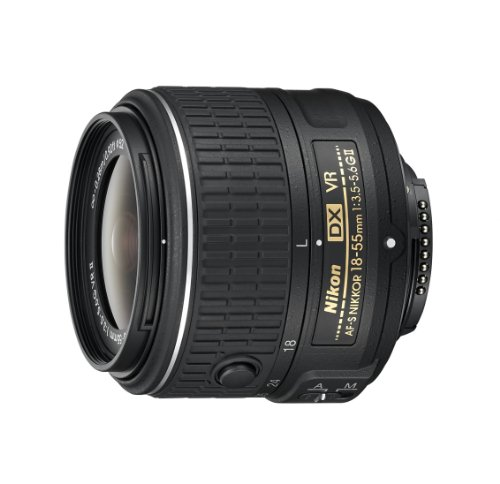 Nikon AF-S DX NIKKOR 18-55mm f/3.5-5.6G Vibration Reduction II Zoom Lens