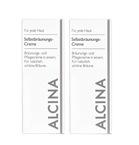 Alcina Selbstbräunungs-Creme 2x50ml