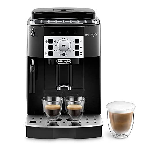 De Longhi Magnifica S ECAM22.110.B Macchina da Caffè Automatica per Espresso e Cappuccino, Caffè in Grani o in Polvere, 1450 W, Nero