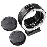 VILTROX EF-EOS R Auto Focus Adaptador de Montaje de Lente para Canon EF/EF-S Objetivo a Canon RF Montaje EOS R R5 R6 RP Cámara