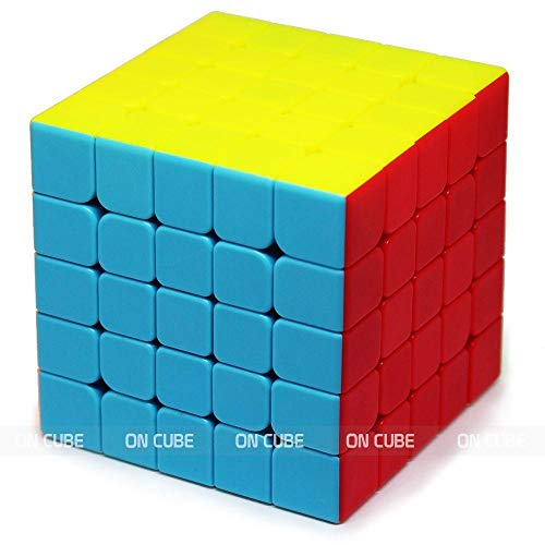 Cubo Mágico Profissional 5x5x5 Stickerless Qiyi Qizheng S -Cubo Store