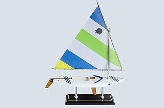 LK Wooden Mojito Sunfish Model Sailboat Decoration 16