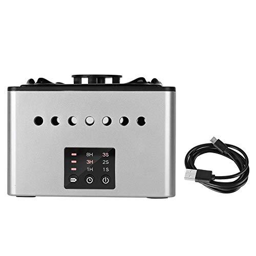 CESULIS Gran Capacidad Multifuncional Blanco Cenicero Purificador de Aire Compatible with PM2.5 Haze Humo de Segunda Mano del USB de Carga formaldehído Proteger la Salud de la Familia Compatible with