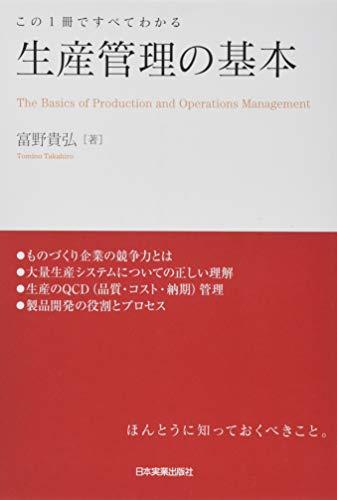 生産管理の基本
