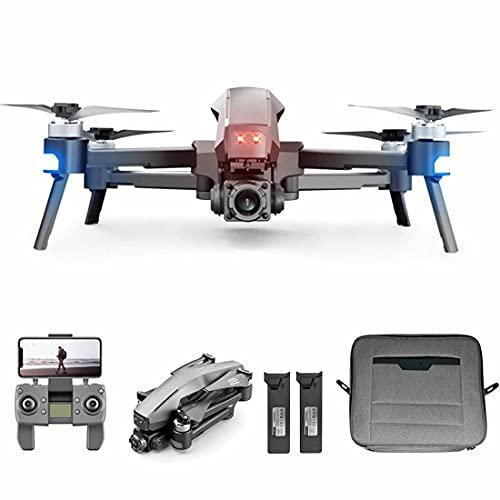 Xshion Drone M1 5G WiFi pieghevole con fotocamera 4K GPS tempo di volo 60 minuti 2 batterie 2 assi, motore senza spazzole Quadcopter,Return Home, anti-shake, controllo gesti