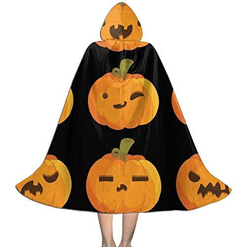 Kinder Halloween Kostüme Baby Kürbis Gesicht Kinder Kapuzensweater Cosplay Uhr
