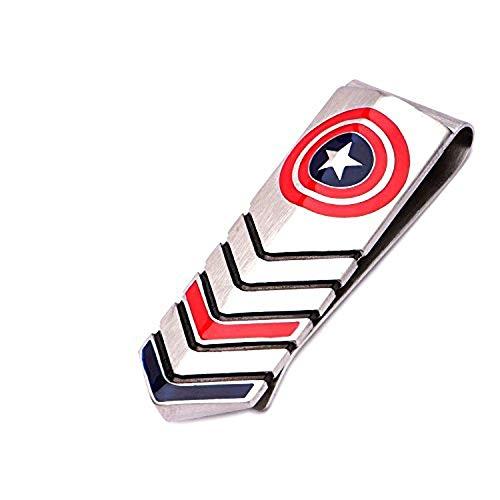 Marvel Herren Amerika mit Finish Geld drucken Clip mit Box