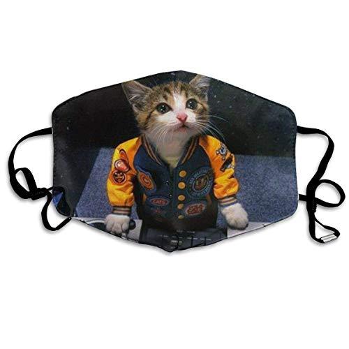 Mundschutz Dj Kitten Printed Dust Gesichtsschutz für Frauen und Männer