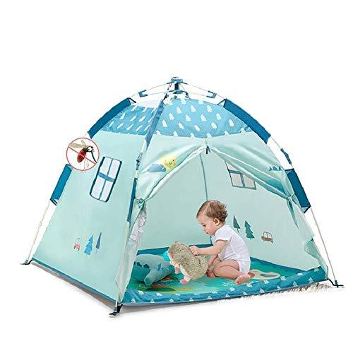 LIUCHANG Niños Pop-up Tienda del Juego, los niños Automatizado Carpa casa del Juego Pop-Up Camping al Aire Libre Cubierta Universal Carpa 120cm * 120cm * 108cm, B liuchang20