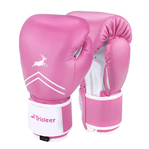 Trideer Boxhandschuhe für MMA Training Boxsack Sandsack Kampfsport Taekwondo Sparring Herren Damen