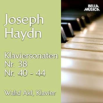 Haydn: Klaviersonaten No. 38, 40 - 44