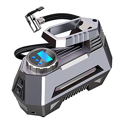 SDDDS Compresor de Aire del automóvil, Bomba Inflable portátil, inflador de neumáticos de automóviles 12V, Mini eléctrico para Viajes Compresores de Aire Herramienta