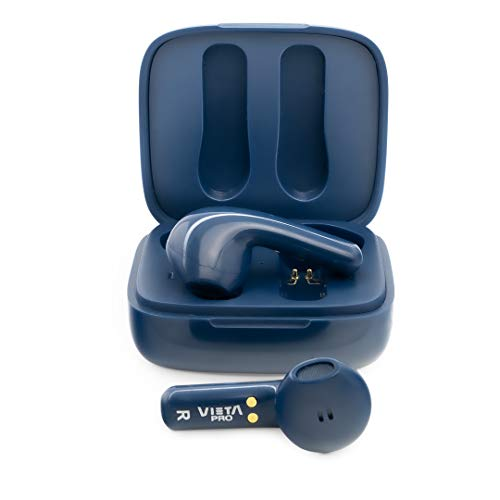 Vieta Pro It - Auriculares inalámbricos (Bluetooth 5.0, True Wireless, micrófono, Touch Control y Voice Assistant) Color Azul, Talla Única
