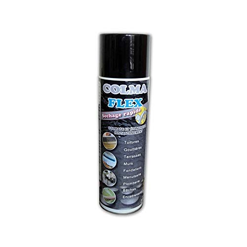 Spray bitumeux noir 500 ml Colmaflex