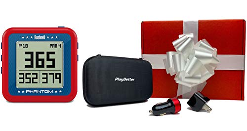 Buy Discount Bushnell Phantom Golf GPS (USA - Red/White/Blue) Premium Bushnell Gift Box | +PlayBette...