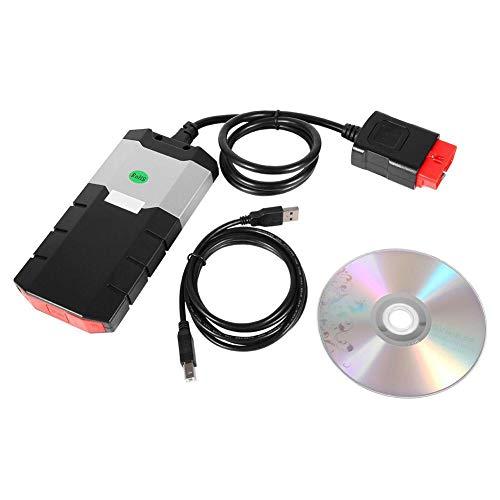 Hlyjoon Auto LKW Fehlerdiagnosewerkzeug OBD2 Scanner mit 2-5 m Bluetooth TCS Pro + Auto Software Codeleser Tester Auto Engine Analyzer Fehlersuche für Windows XP/7/8/10