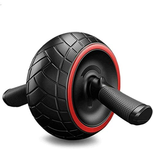 AB Roller Exercise Wheel AB Roller Rebound Abdominal Trainer Whole Body Fitness for Fitness Home & Gym Workout Withstand 400Kg