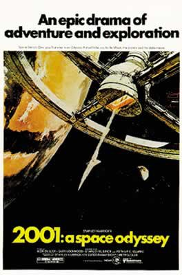 POSTER STOP ONLINE 2001 A Space Odyssey - Movie Poster (Size 27' x 40')