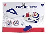 Realistic Interactive Children Kids Toddlers Play Home House Vacuum Cleaner Cart Toy Lights up Makes Sounds Great Birthday for Girls Toddlers Kids