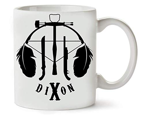 George Graphics Walking Dead Daryl Dixon Klassische Teetasse Kaffeetasse