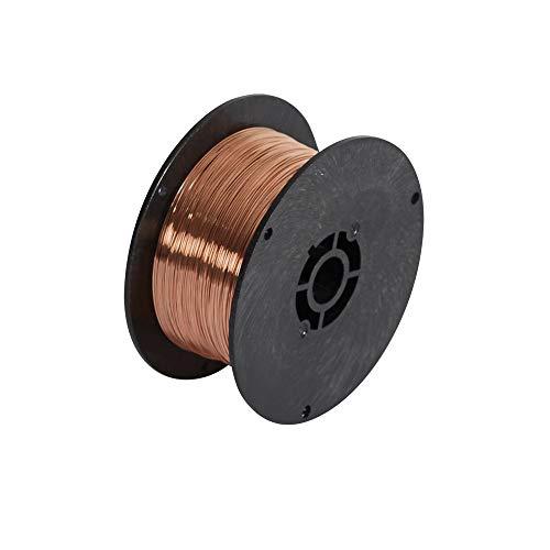 Telwin 802132 Bobina Filo Acciaio D. 0.6 mm 0.8 kg per Saldatura, 0.1 V, 0.6 mm - 0.8 kg, Marrone