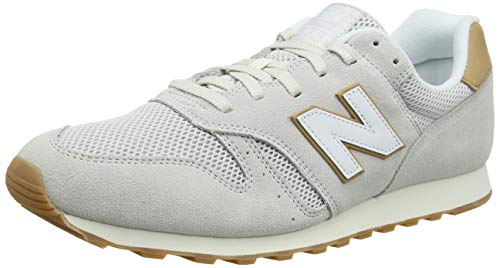 New Balance Herren ML373NBC Sneaker, Weiß (Nimbus Cloud/Veg Tan NBC), 42.5 EU